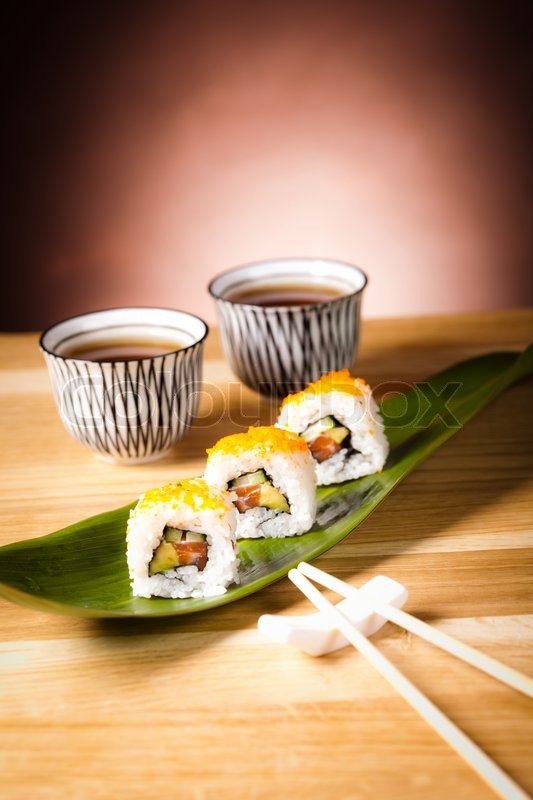 sushi set stock photo colourbox. Black Bedroom Furniture Sets. Home Design Ideas
