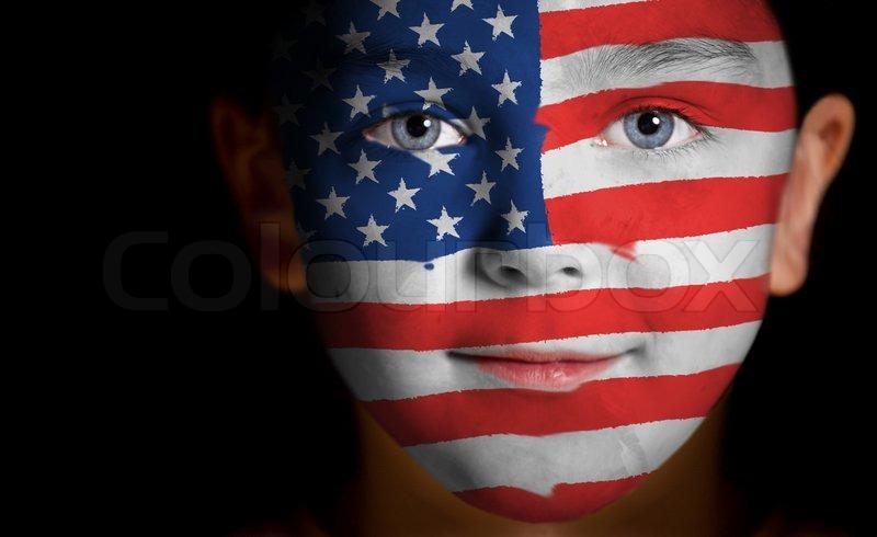 Usa Soccer Face Paint