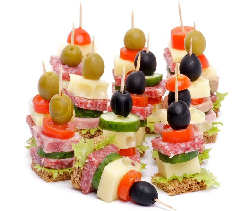 Arrangement of canape stock photo colourbox for Canape suppliers