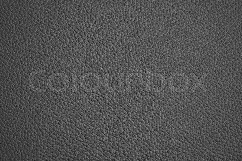 Dark Grey Leather Texture Stock Photo Colourbox