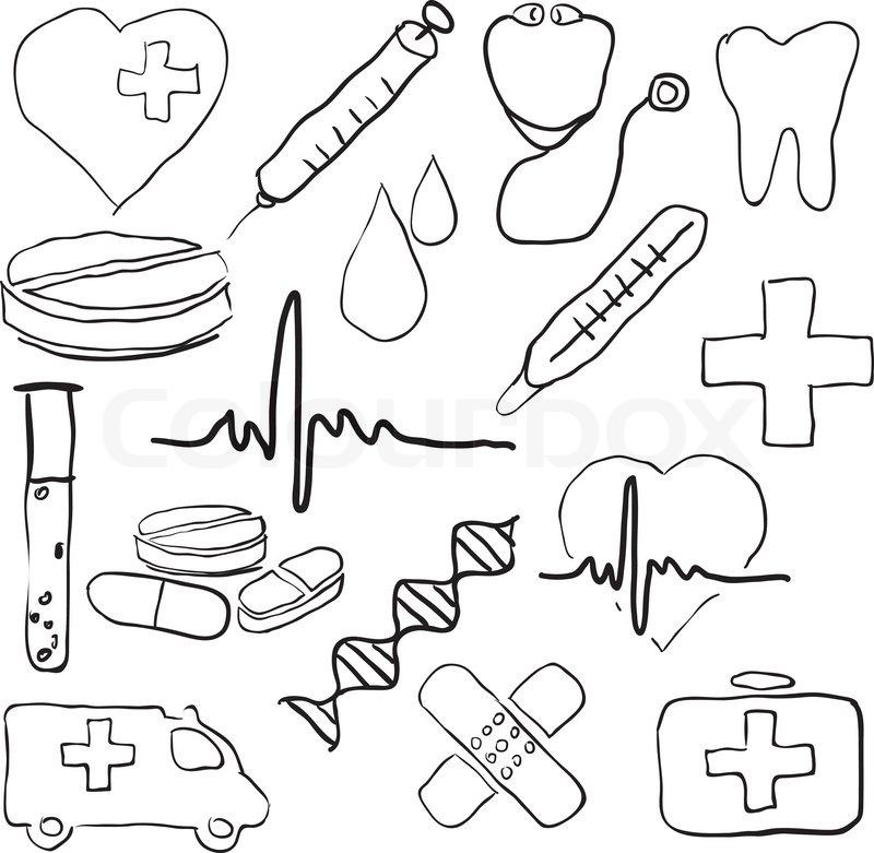 doodle medical images