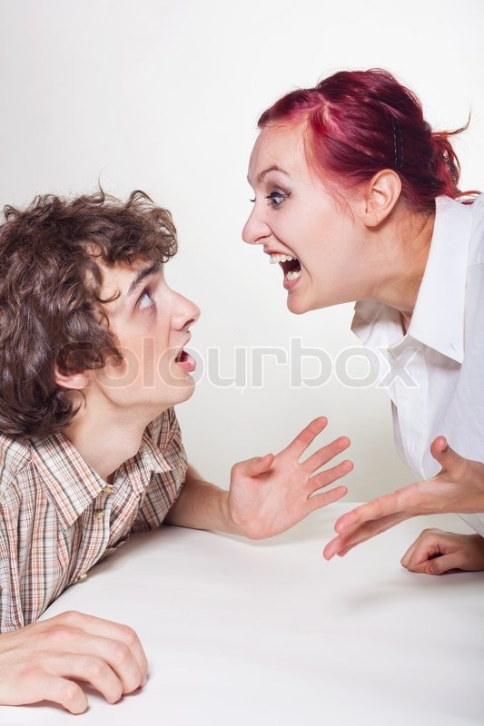 Фото жена кричит 10 фотография