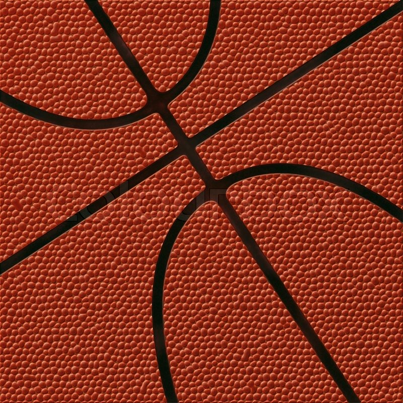 Basketball Background Highly Detailed Texture Stock