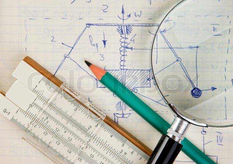 mathematisch regel gleichungen stockfoto colourbox. Black Bedroom Furniture Sets. Home Design Ideas