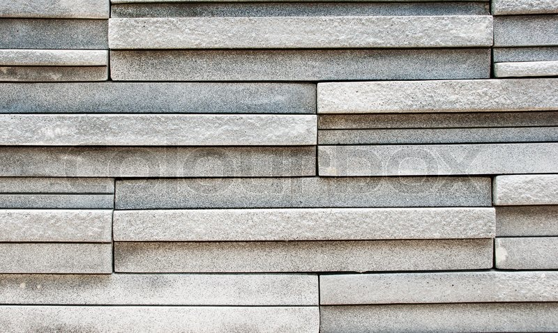 Dark Grey Tile Texture Brick Wall Surfaced Stock Photo