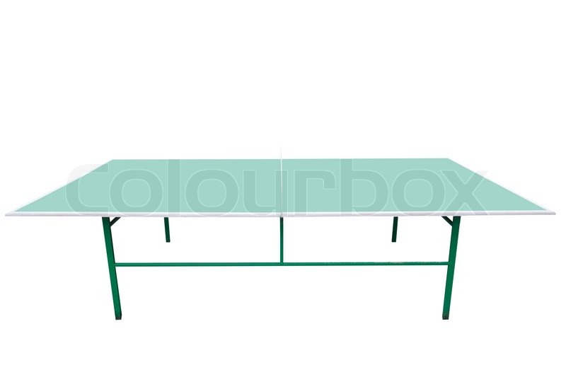 ping pong tisch stockfoto colourbox. Black Bedroom Furniture Sets. Home Design Ideas