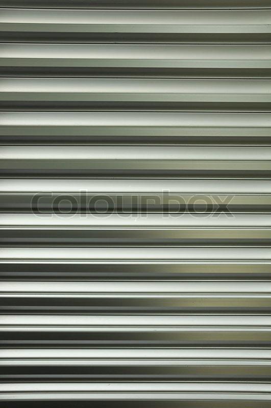 Aluminum Louver Stock Photo Colourbox