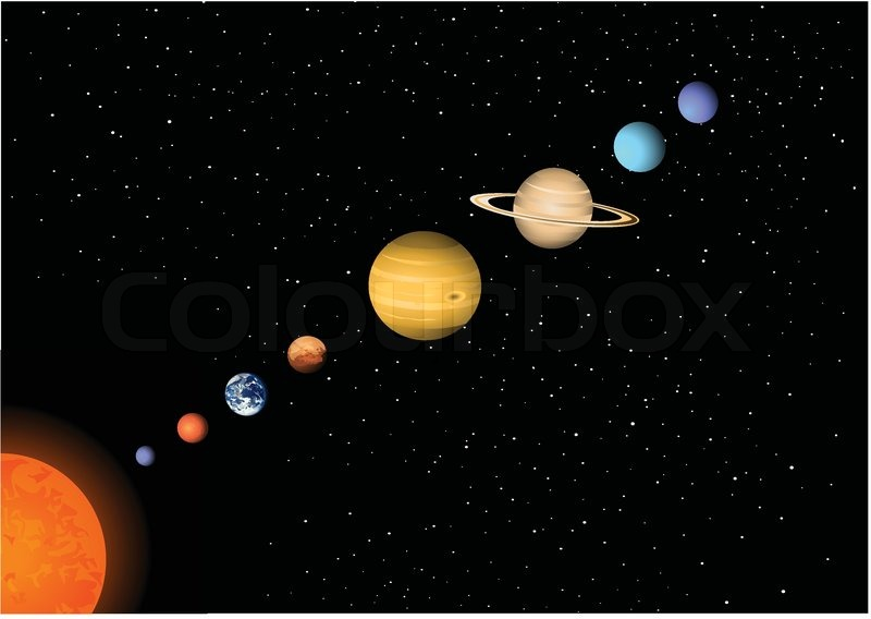 the eight planets from space - photo #26