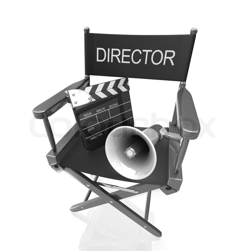 Director's Chair | Stock Photo | Colourbox