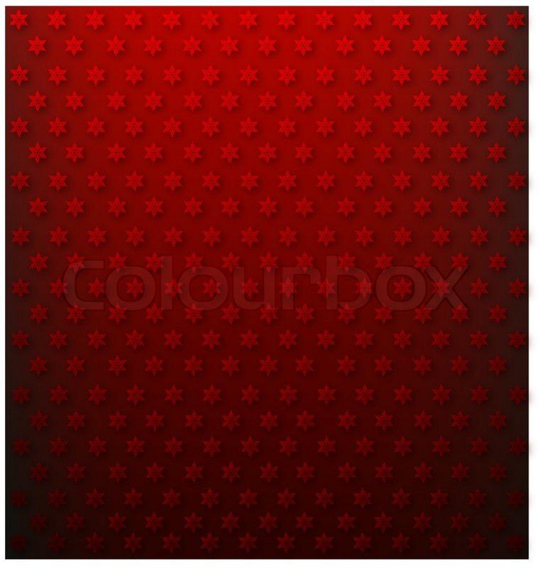 Weihnachten-themed rot Scrapbooking Papier | Vektorgrafik | Colourbox