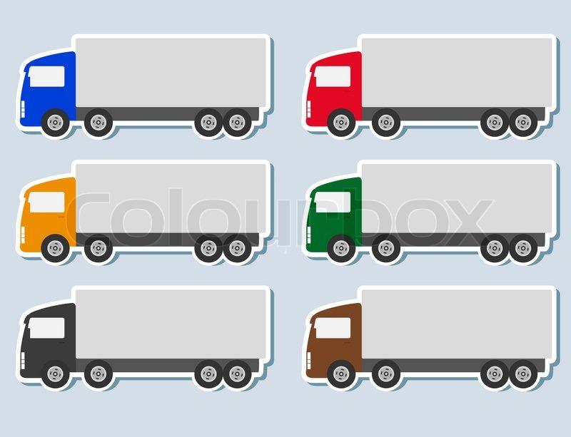 Semi Truck Silhouette Semi Truck Silhouette