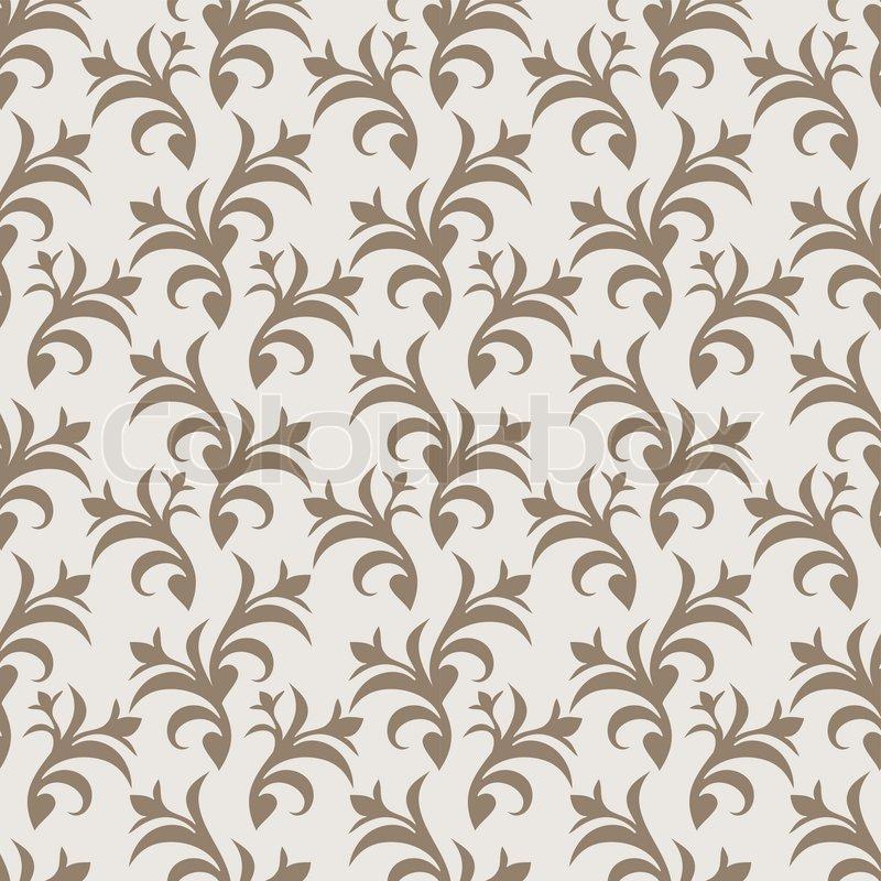 brown tone damask style - photo #24