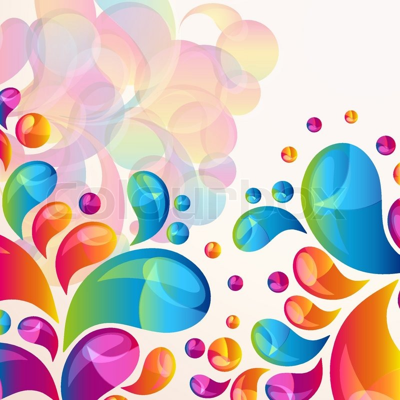 Splash Vector Background Cover Template Stock