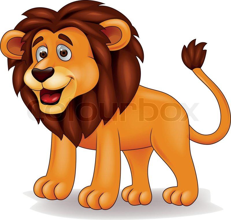 vector illustration of lion cartoon stock vector colourbox. Black Bedroom Furniture Sets. Home Design Ideas
