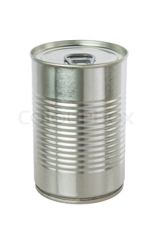 White Food Cans