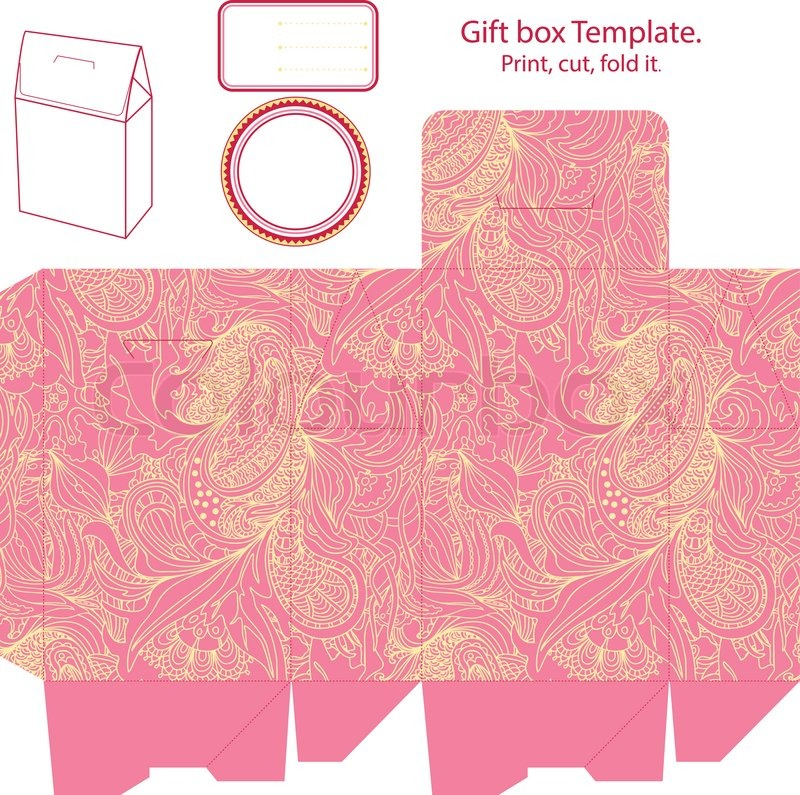 Doc488175 Gift Box Template Free Free Gift Box Templates to – Gift Box Template Free