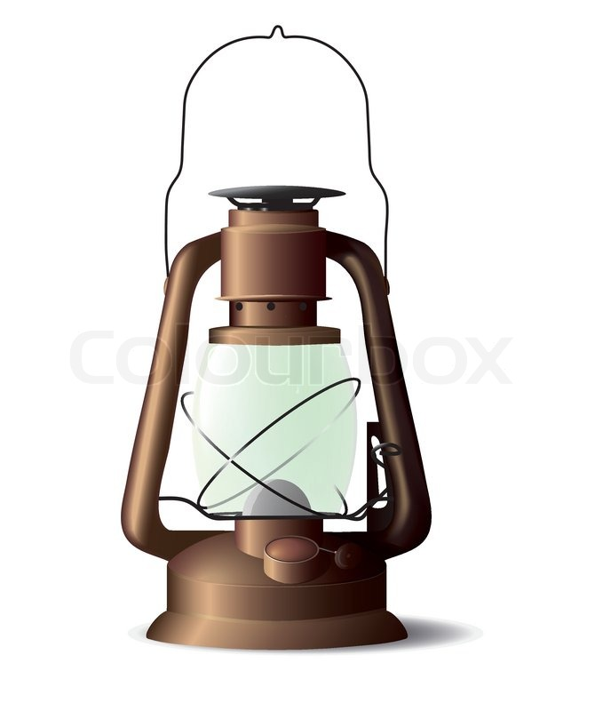 Lovely Old Lamp, Vector