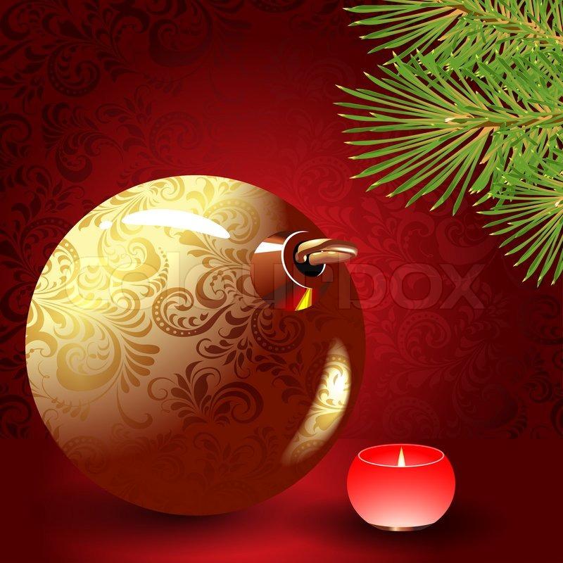 Christmas ball, stock photo
