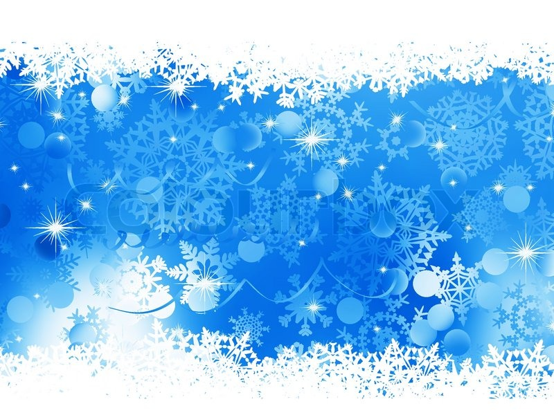 blue christmas background eps 8 stock vector colourbox snowflake clipart images free Christmas Snowflake Clip Art
