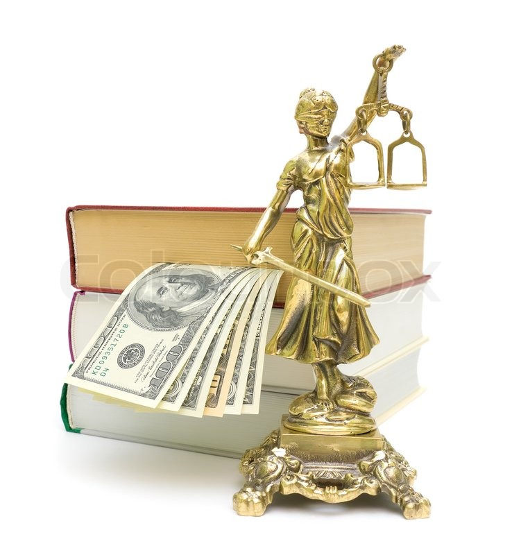 Indian Justice Statue Statue of Justice Money And