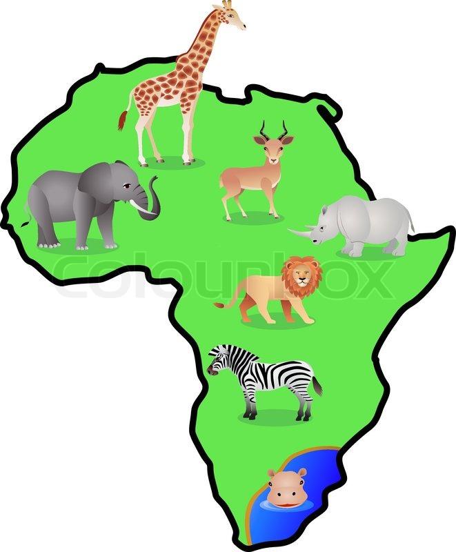 Animal Afica | Stock Vector | Colourbox