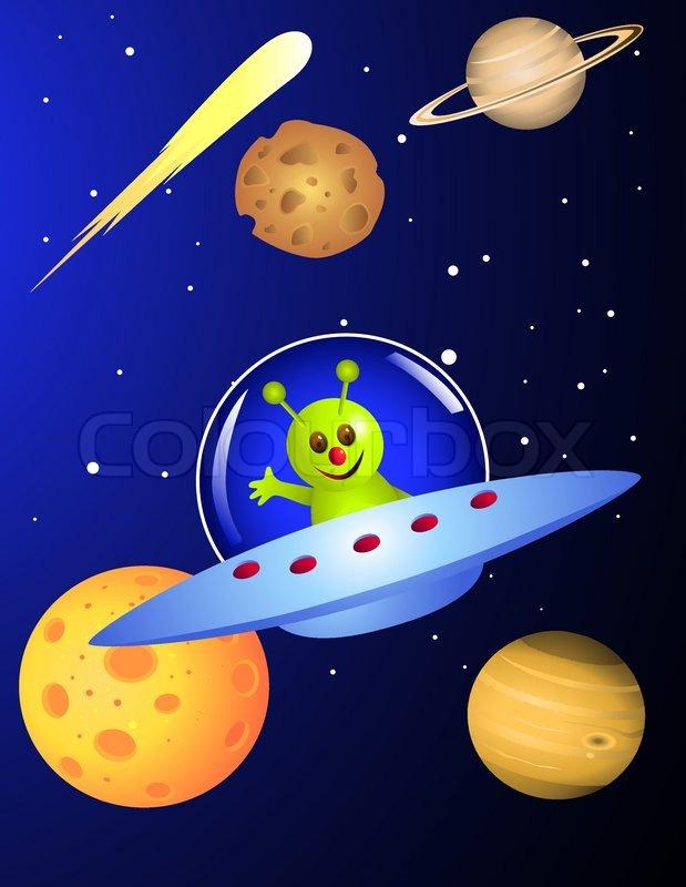 cute space ship - photo #13