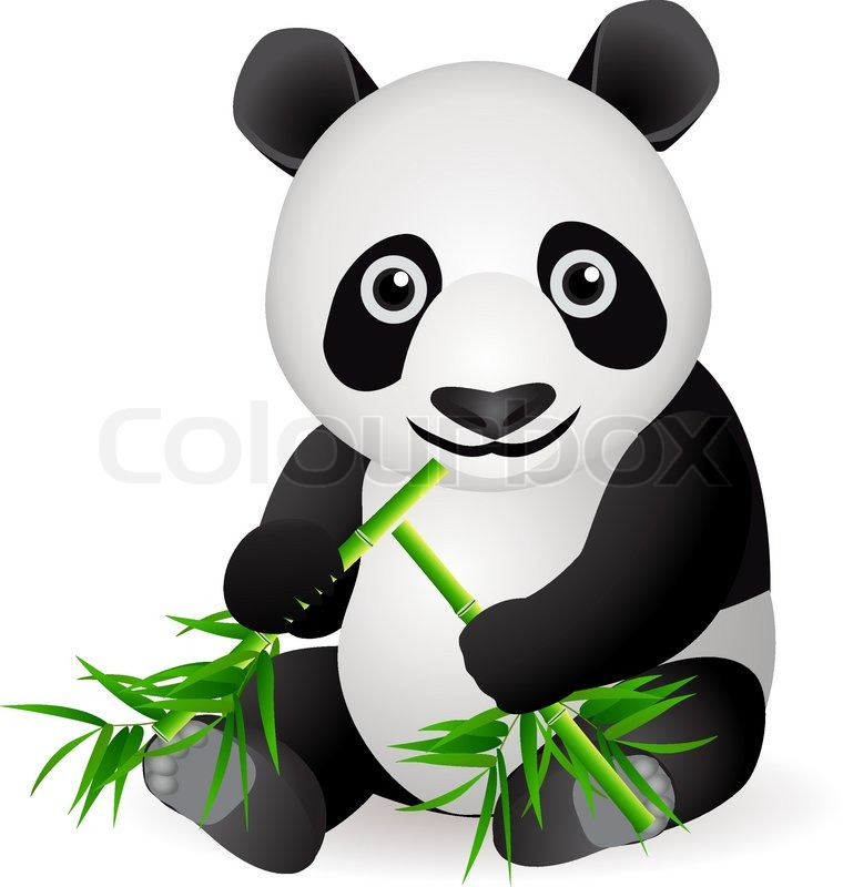 panda bear stock vector colourbox grass clipart white grass clipart png