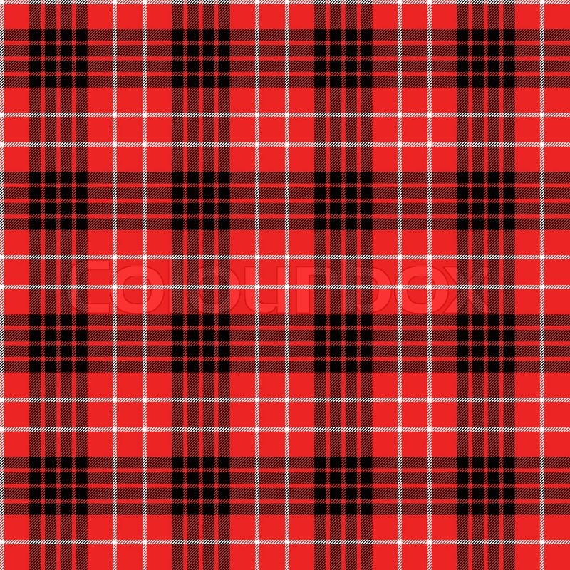seamless tartan pattern stock vector colourbox. Black Bedroom Furniture Sets. Home Design Ideas