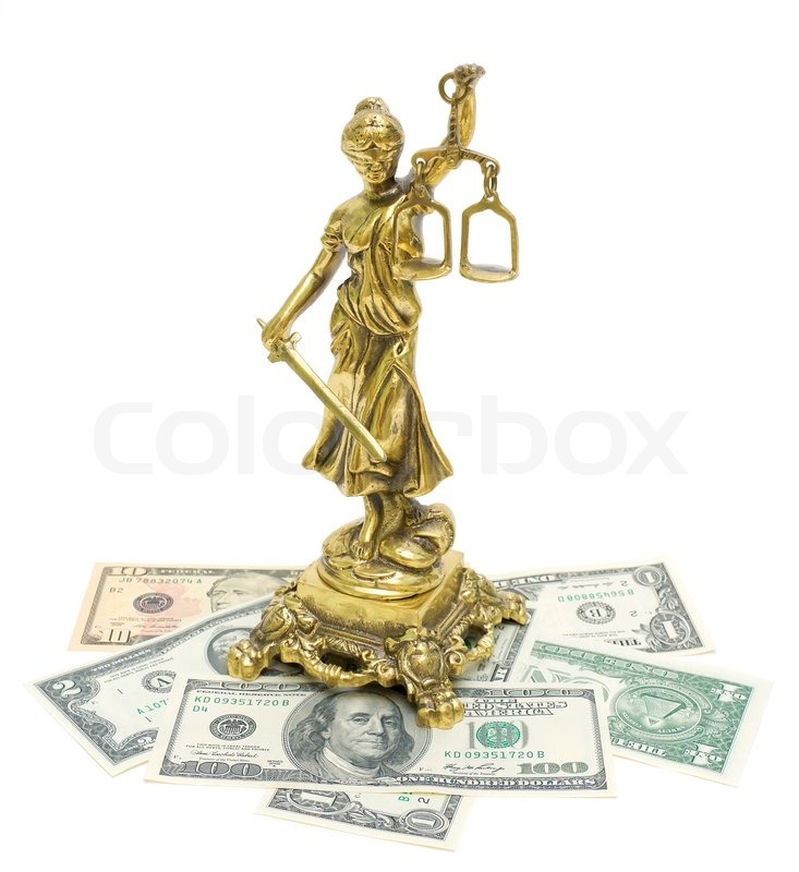 Indian Justice Statue Statue of Justice And Money