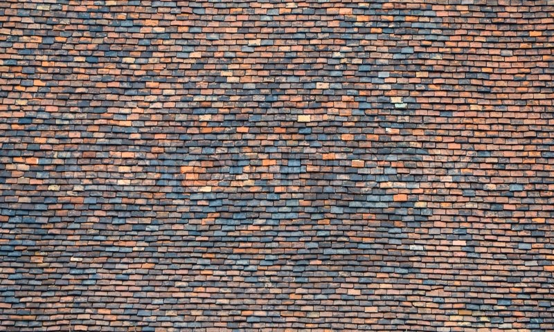 Old Roof Tiles Texture Stock Photo Colourbox