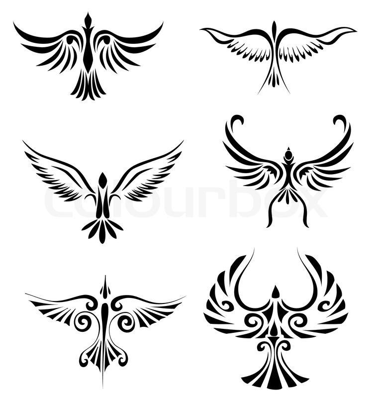 Tribal Art Tattoos Bird Tribal Tattoo