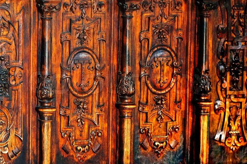 Antike m bel stockfoto colourbox - Antike franzosische mobel ...