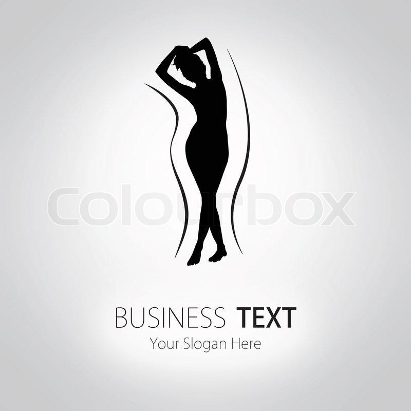 Woman Silhouette Logo Design Woman Silhouette
