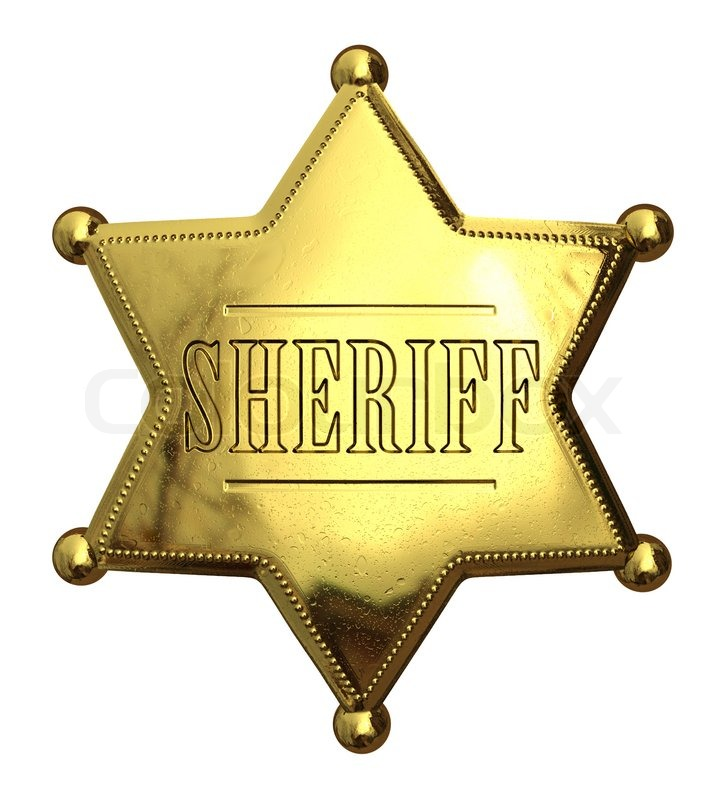sheriffstern vorlage