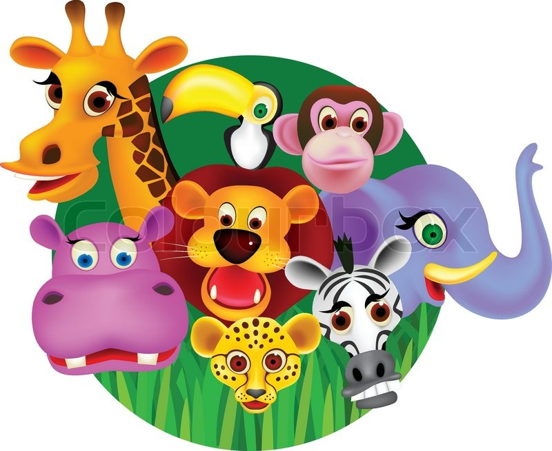 animal cartoon vector - Images Cartoon Animals