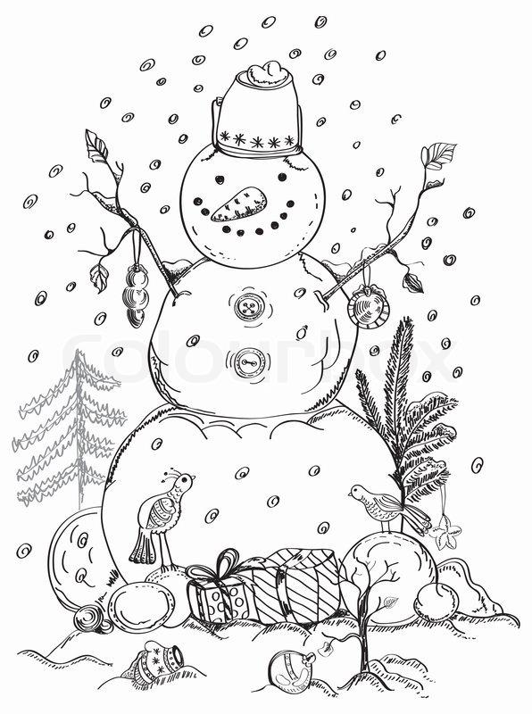 weihnachtskarte f r weihnachten design mit kugeln vogel. Black Bedroom Furniture Sets. Home Design Ideas