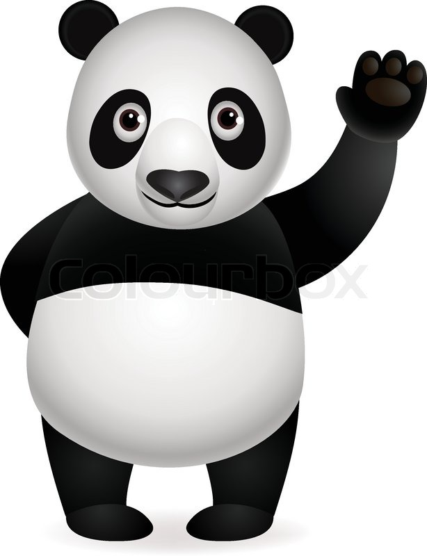 Cute panda cartoon | Vector | Colourbox: https://www.colourbox.com/vector/cute-panda-cartoon-vector-5170905
