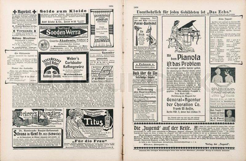 Paris, France - Circa 1919: Newspaper Page With Antique