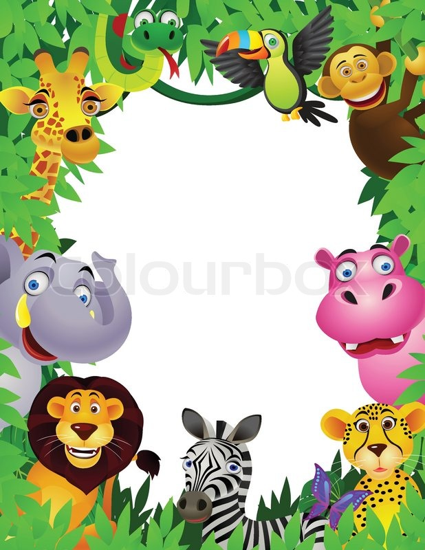 Vector Illustration Of Animal Cartoon Stock Vector