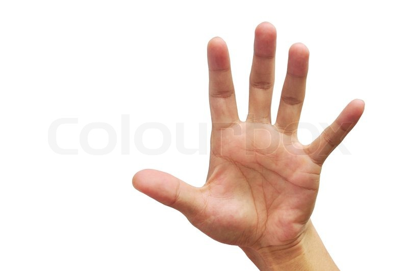 swing land død mands hånd