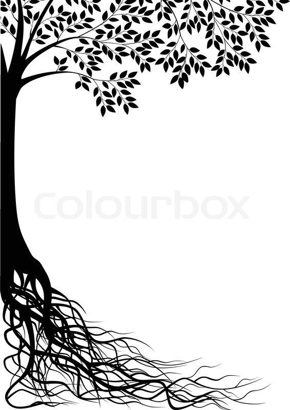 tree silhouette stock vector colourbox oak leaf vectorial oak leaf vector icon