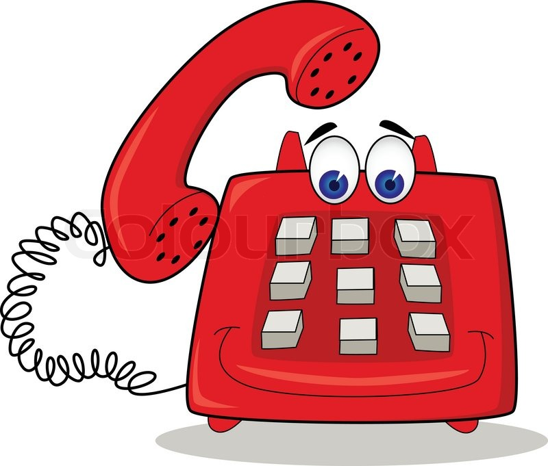 telephone cartoon stock vector colourbox no cell phone clip art free free cell phone images clip art