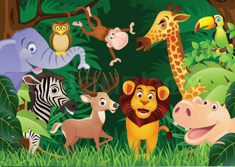 animal cartoon stock vector colourbox birthday clip art free images birthday clip art free images for women