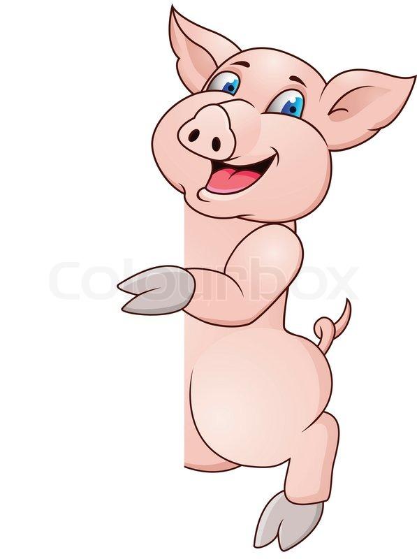 funny pig cartoons