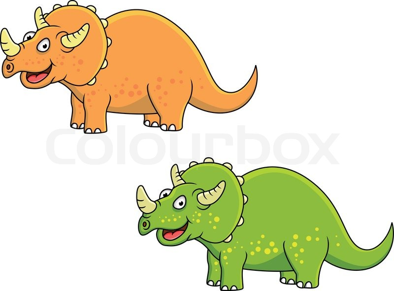 Displaying (19) Gallery Images For Triceratops Clip Art...