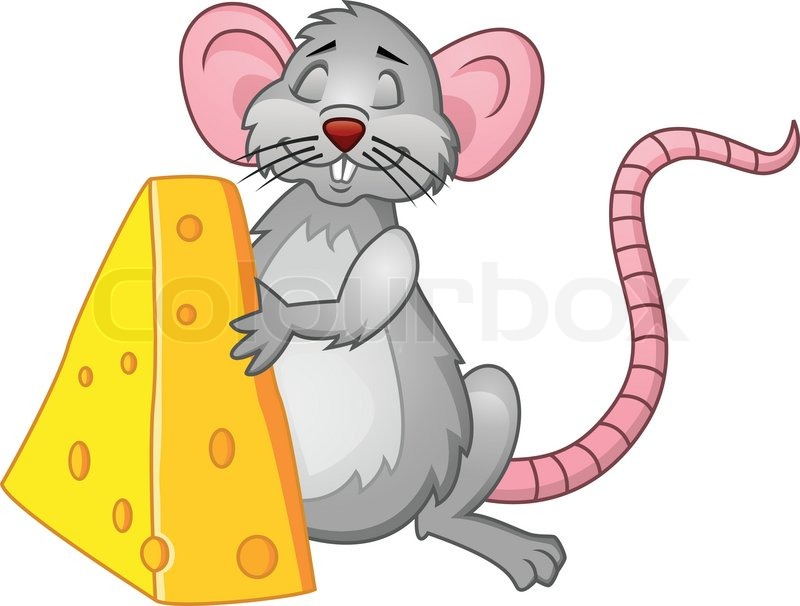 Rat Cartoon  Stock Vector  Colourbox