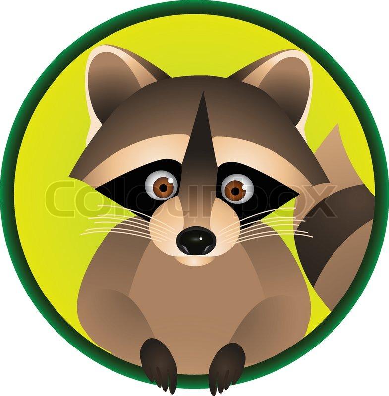 Racoon Cartoon | Stock Vector | Colourbox Raccoon Face Clip Art