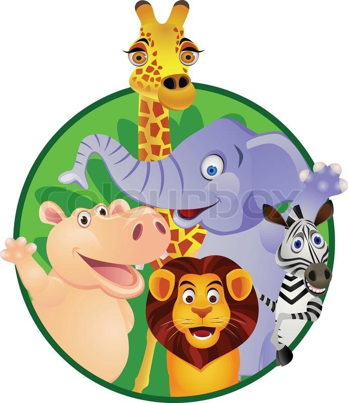 animal cartoon stock vector colourbox barnyard clipart barnyard clipart