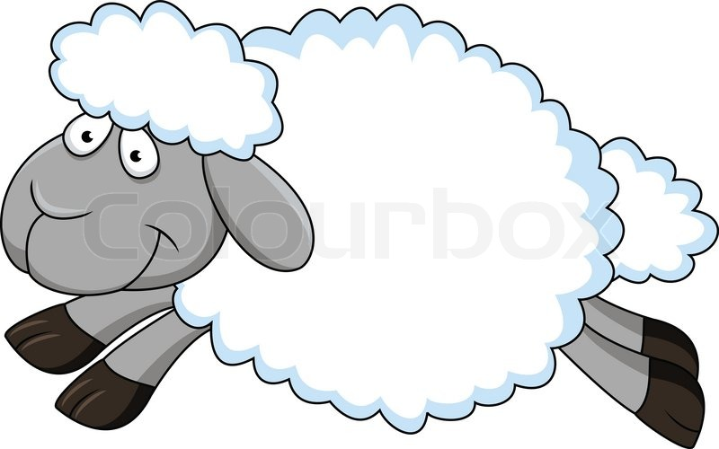 Sheep Cartoon | Vector | Colourbox: colourbox.com/vector/sheep-cartoon-vector-5196752