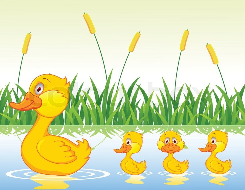 duck family cartoon stock vector colourbox bath clipart black and white bath clipart png